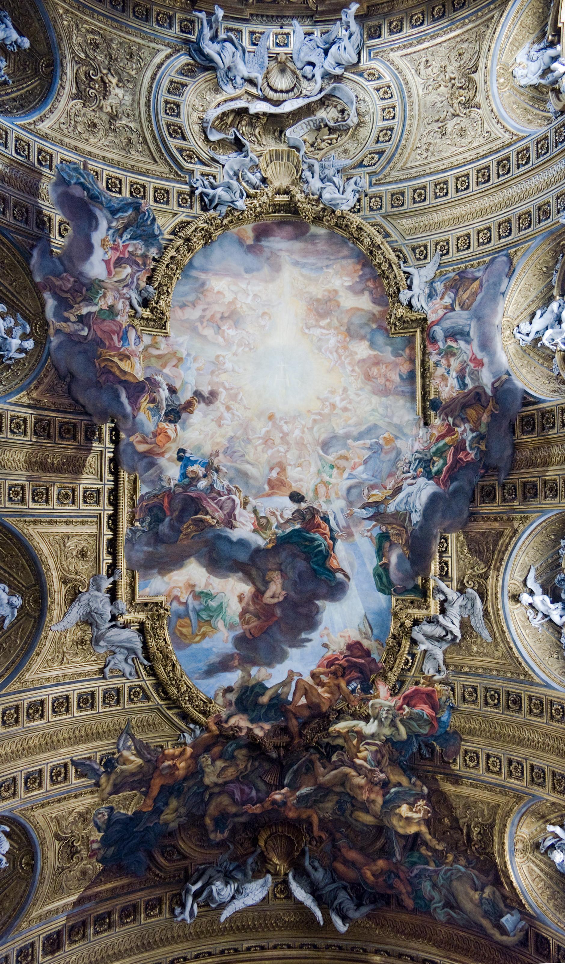 Western art history italian baroque art sarah for The giovanni