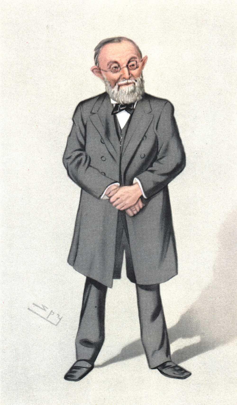File Rudolf Virchow By Leslie Ward Spy Jpg Wikimedia