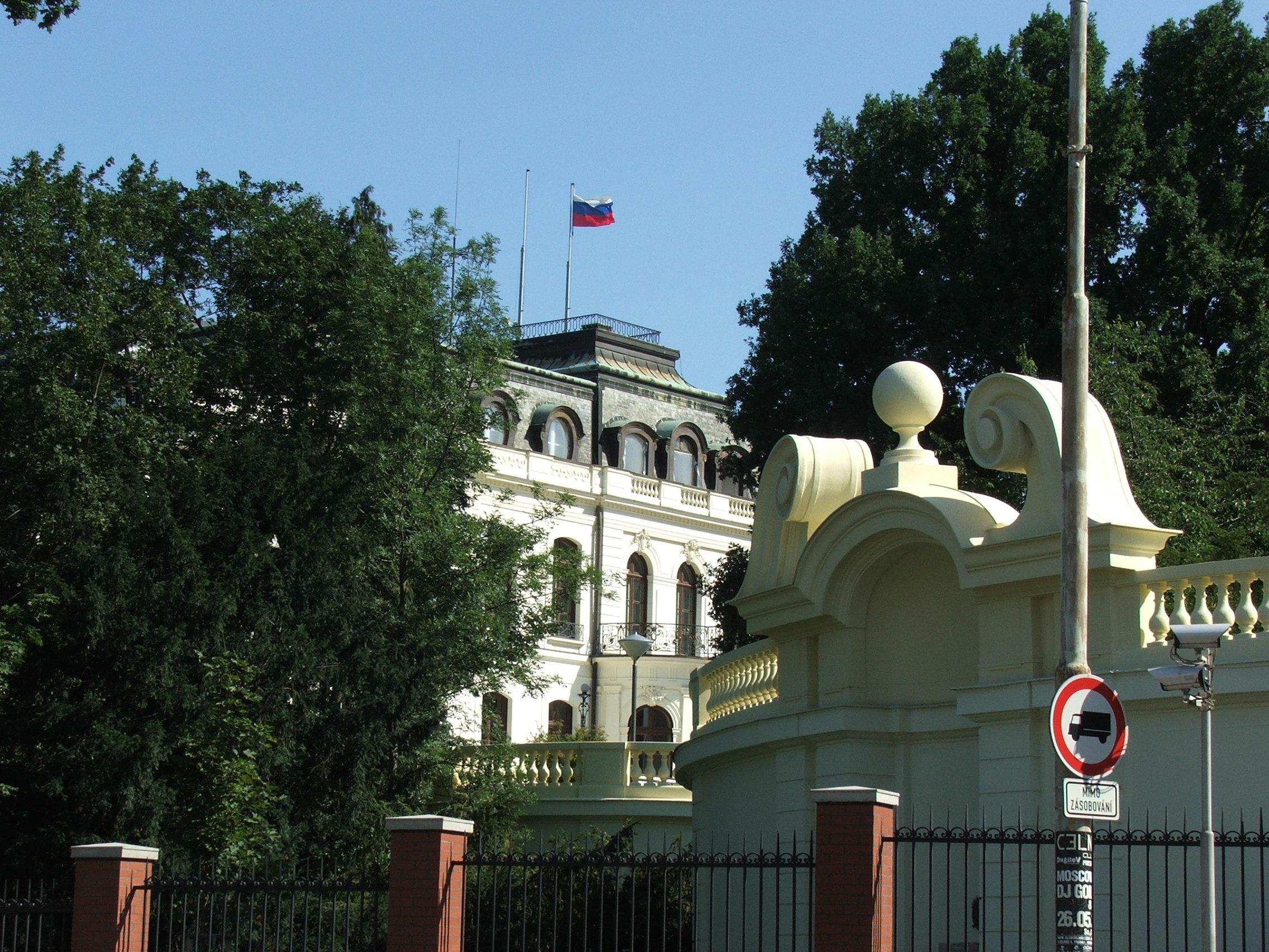 Image result for Ruská ambasáda