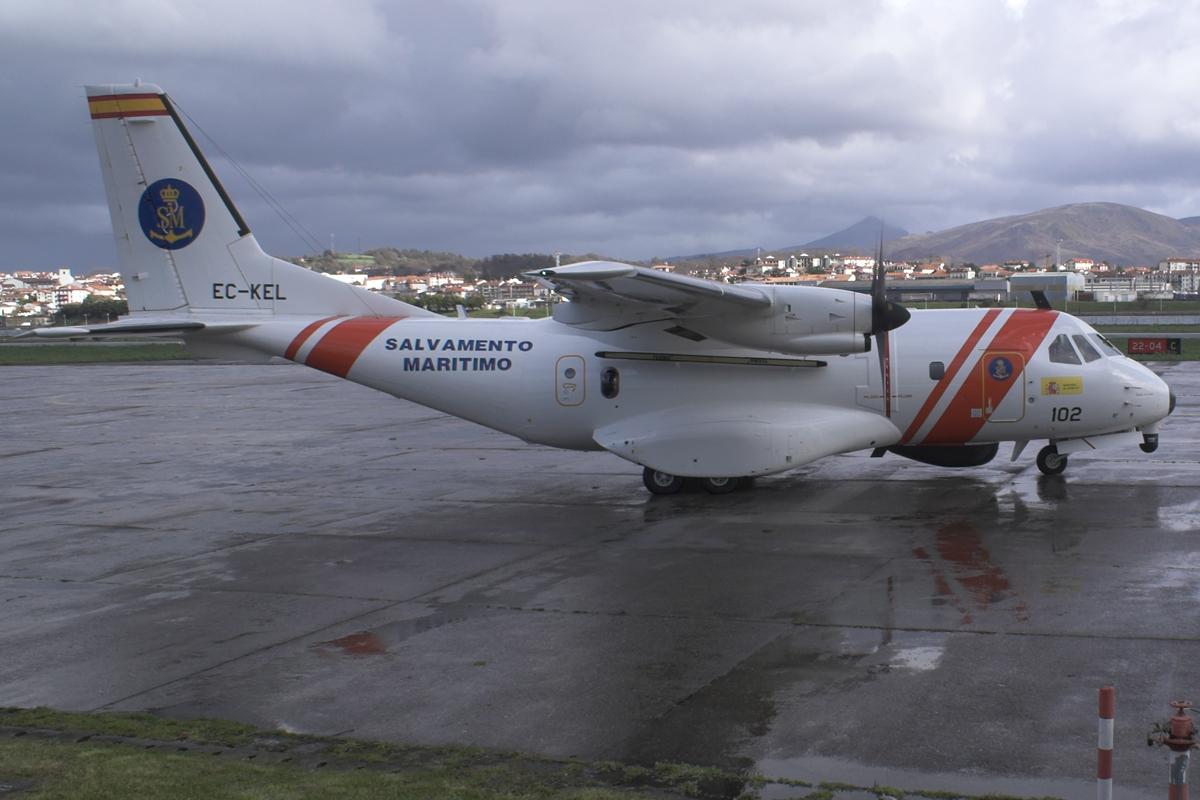 A CASA CN-235-300 MP Persuader of Spain's Sociedad de Salvamento y Seguridad Mar tima