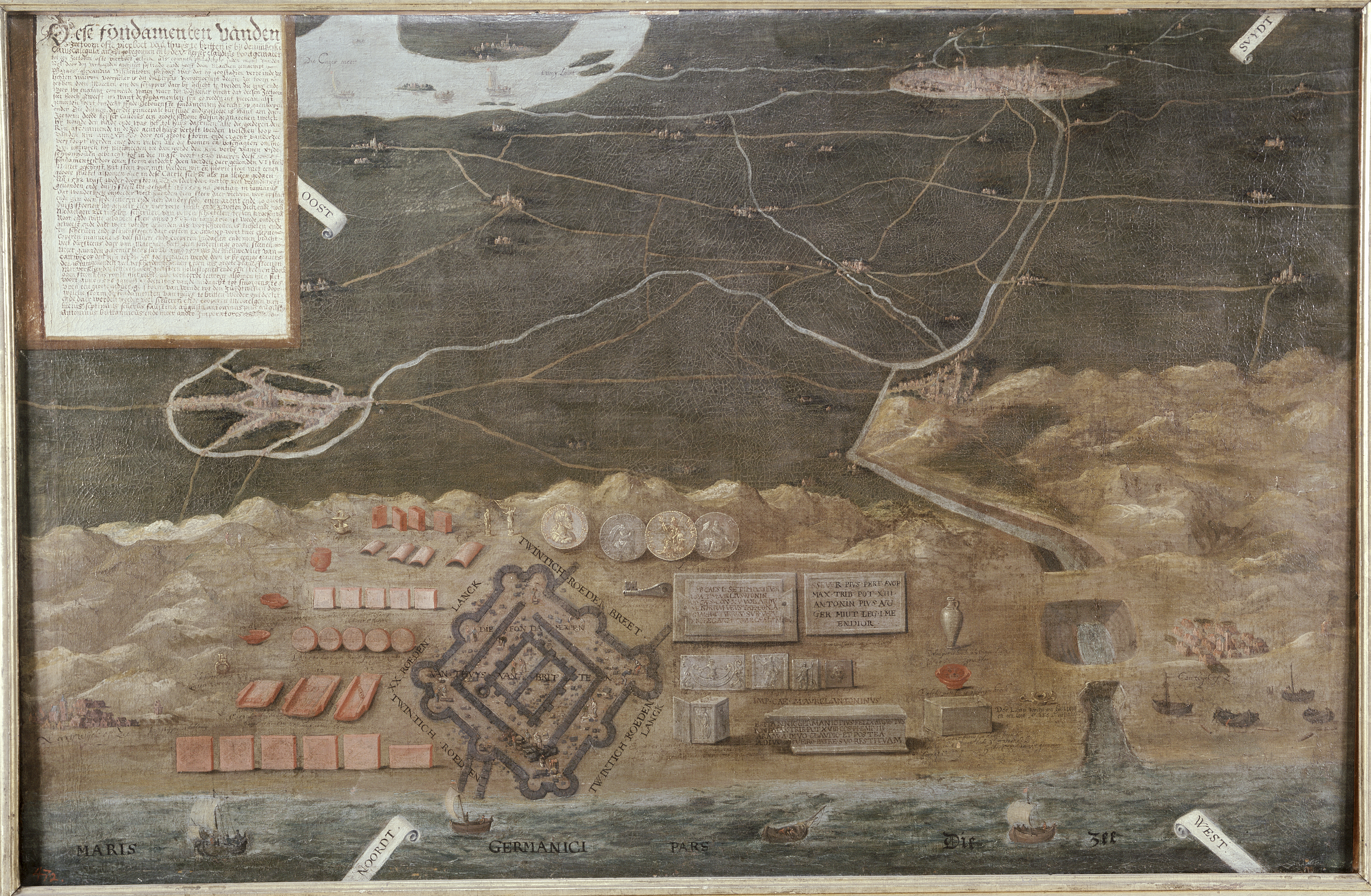 File:Schilderij Brittenburg Katwijk RMO Leiden.jpg - Wikimedia Commons