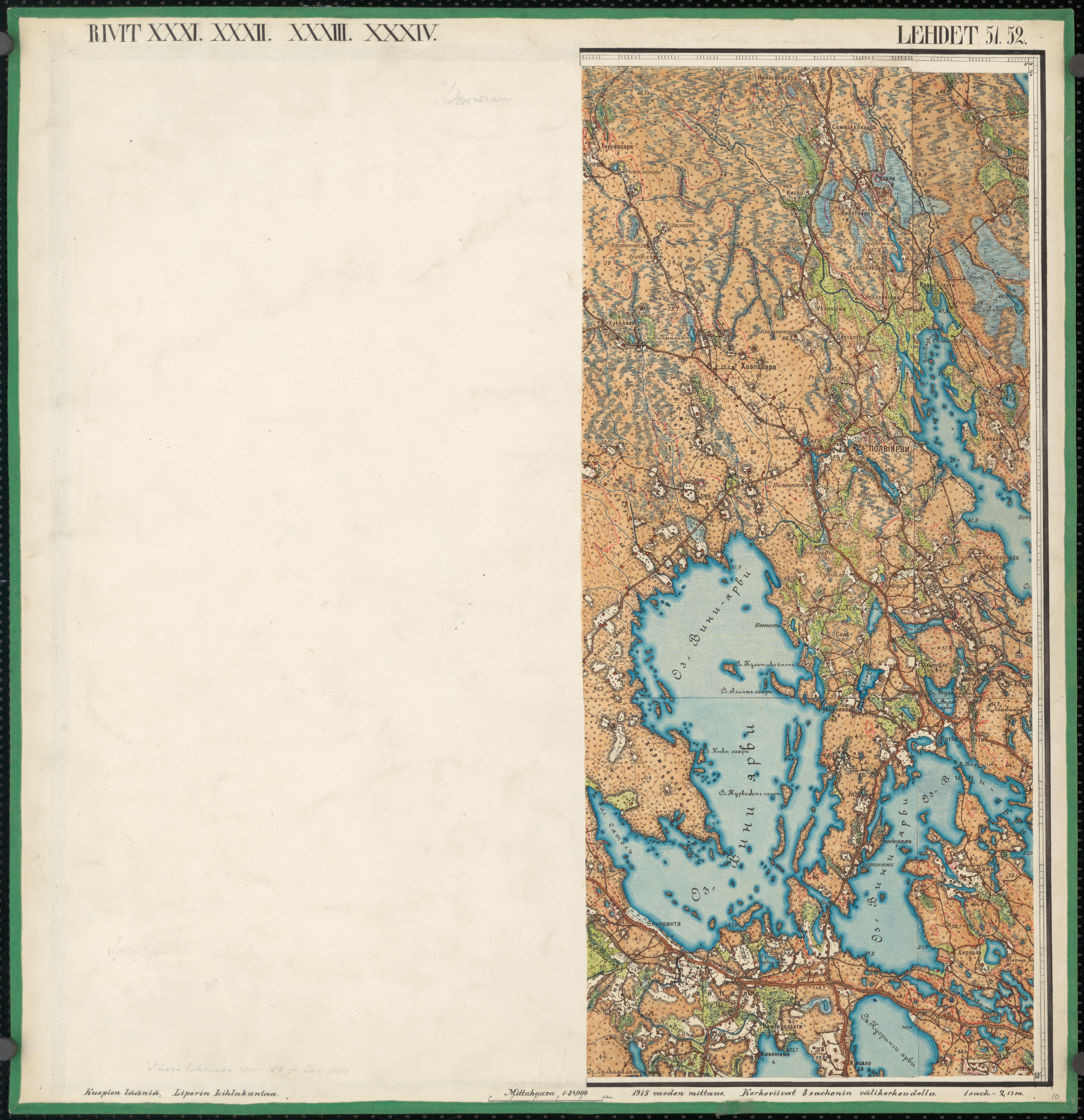 File Senate Atlas 1870 1907 Sheet Xxxi Xxxiv 51 52 Polvijarvi