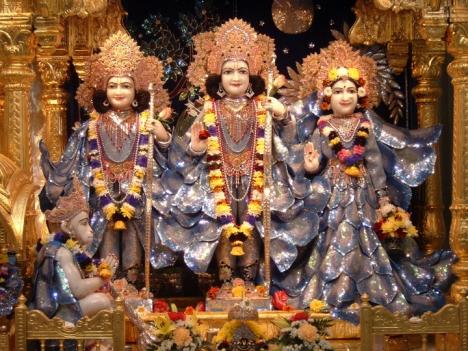 Lord Ram, Laxman, and Sita Devi
