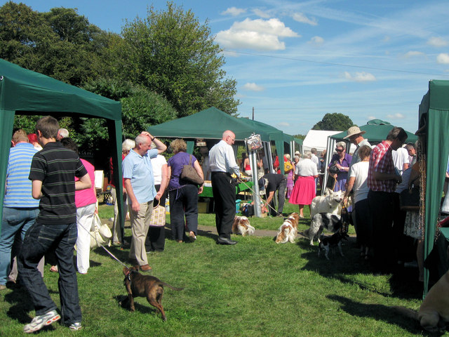Stalls at the Chiltern Dog Rescue Society's annual event at Cholesbury - geograph.org.uk - 1455300
