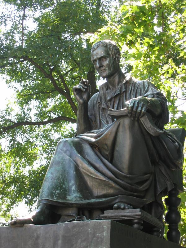300 anni dalla nascita di Rousseau Statue_Rousseau_Geneve