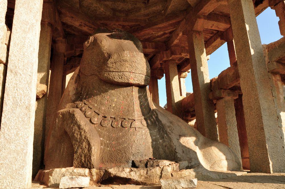 Image result for monolithic nandi hampi