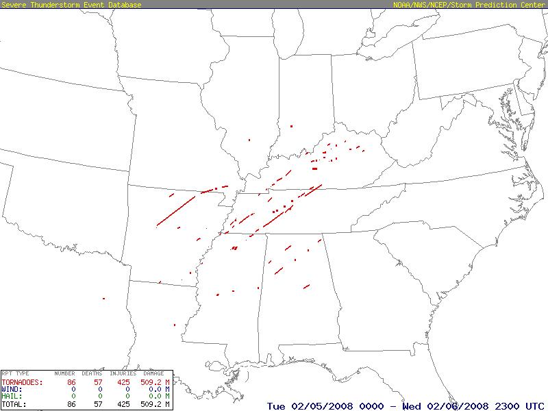 Super Tuesday Outbreak 5/2/2008 Super_Tuesday_outbreak_tornado_map