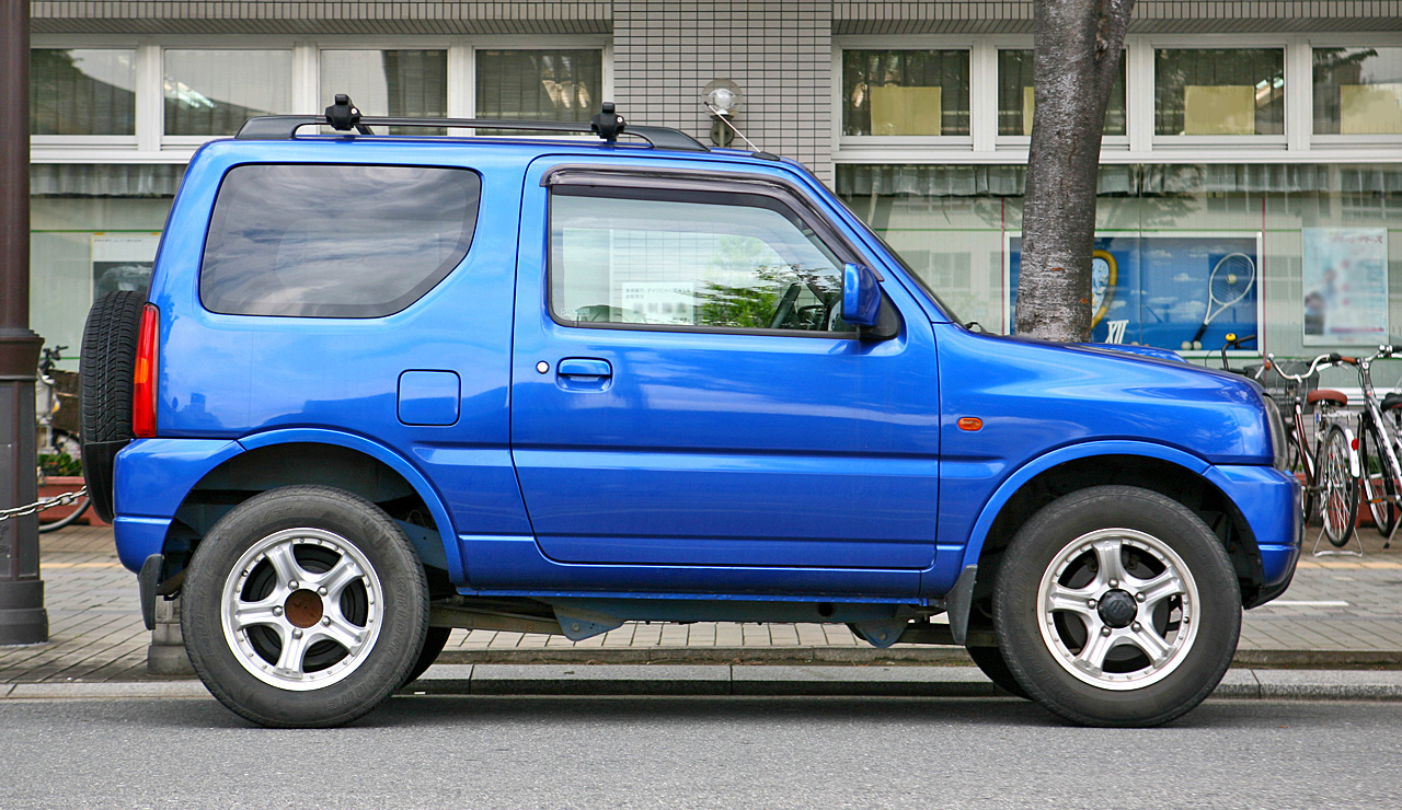 Suzuki Sierra Tyre Size