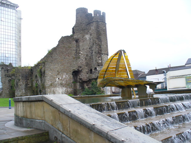File:Swansea Castle - geograph.org.uk - 1484958.jpg
