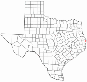 Location of Wiergate, Texas