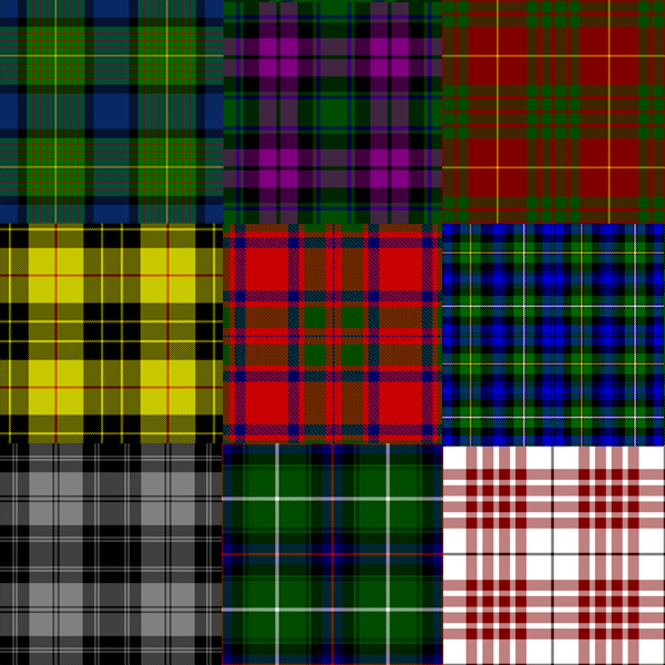 What Is Tartan file:tartans - wikimedia commons