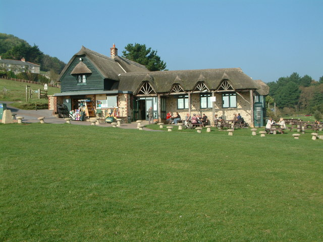 Tearoom, Branscombe Mouth - geograph.org.uk - 414034