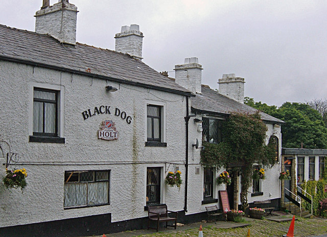 The Black Dog, Belmont - geograph.org.uk - 879779