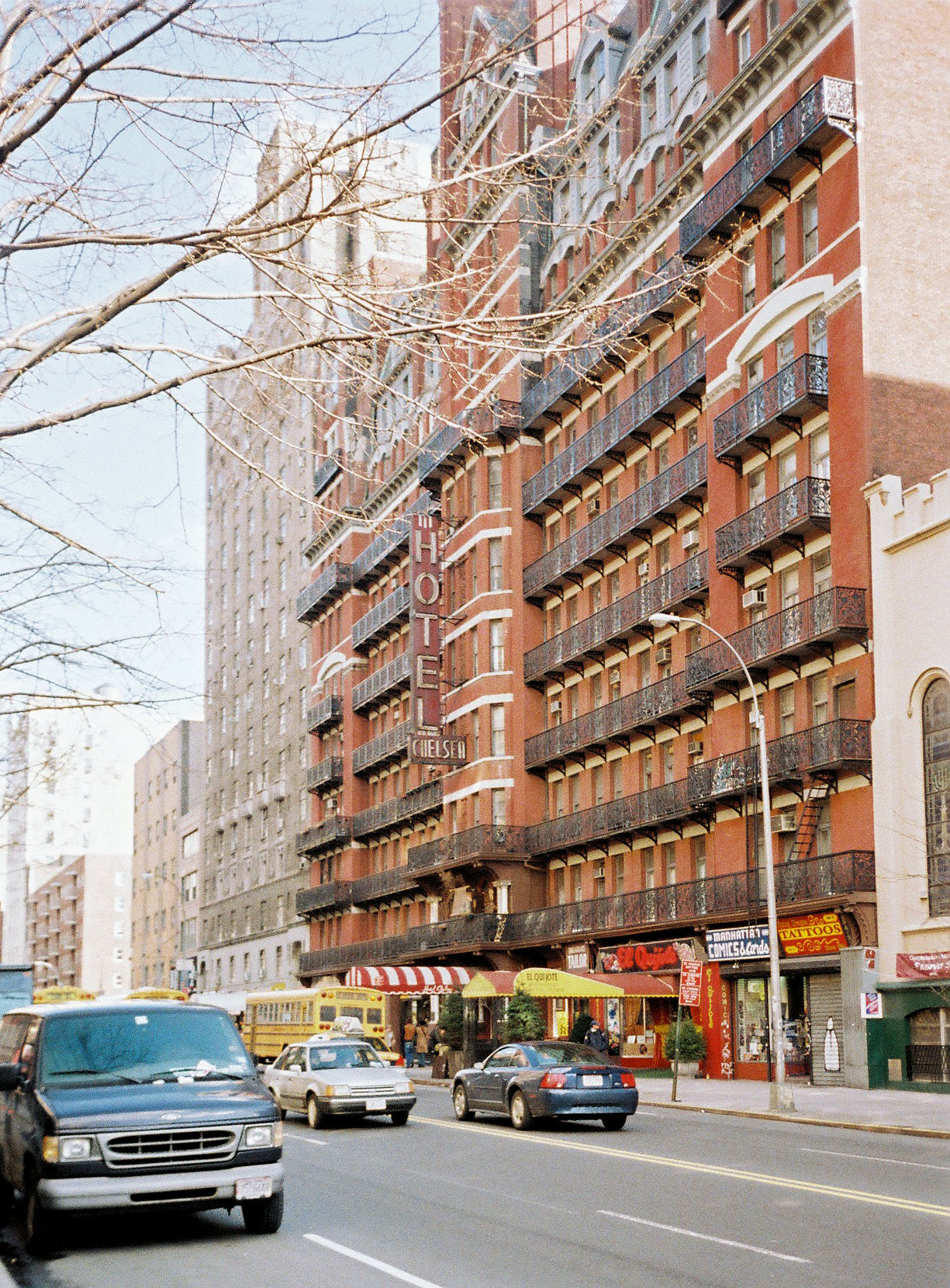 File The Hotel Chelsea New York City Jpg
