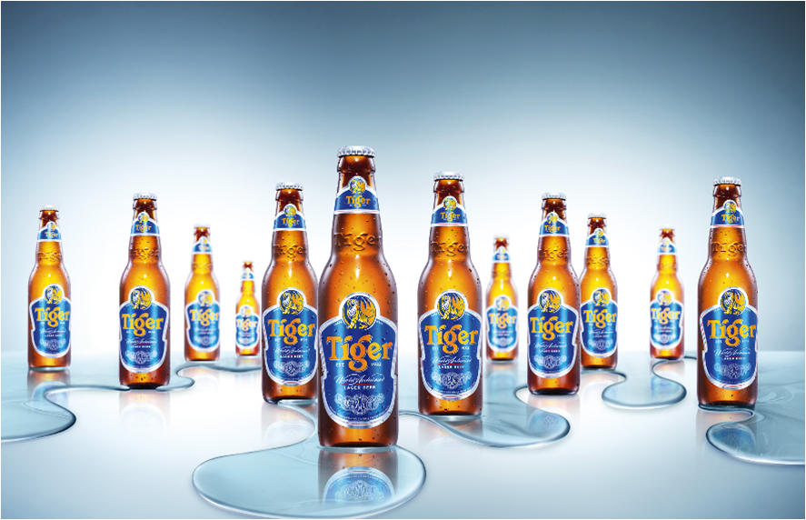 tiger beer background