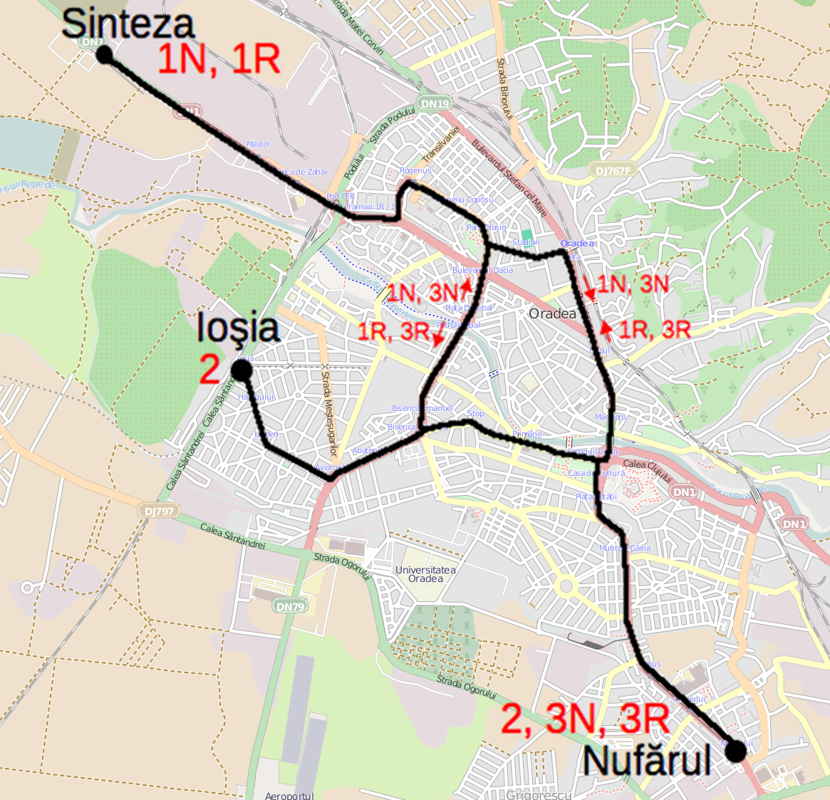 FileTram map of Oradeapng Wikimedia Commons