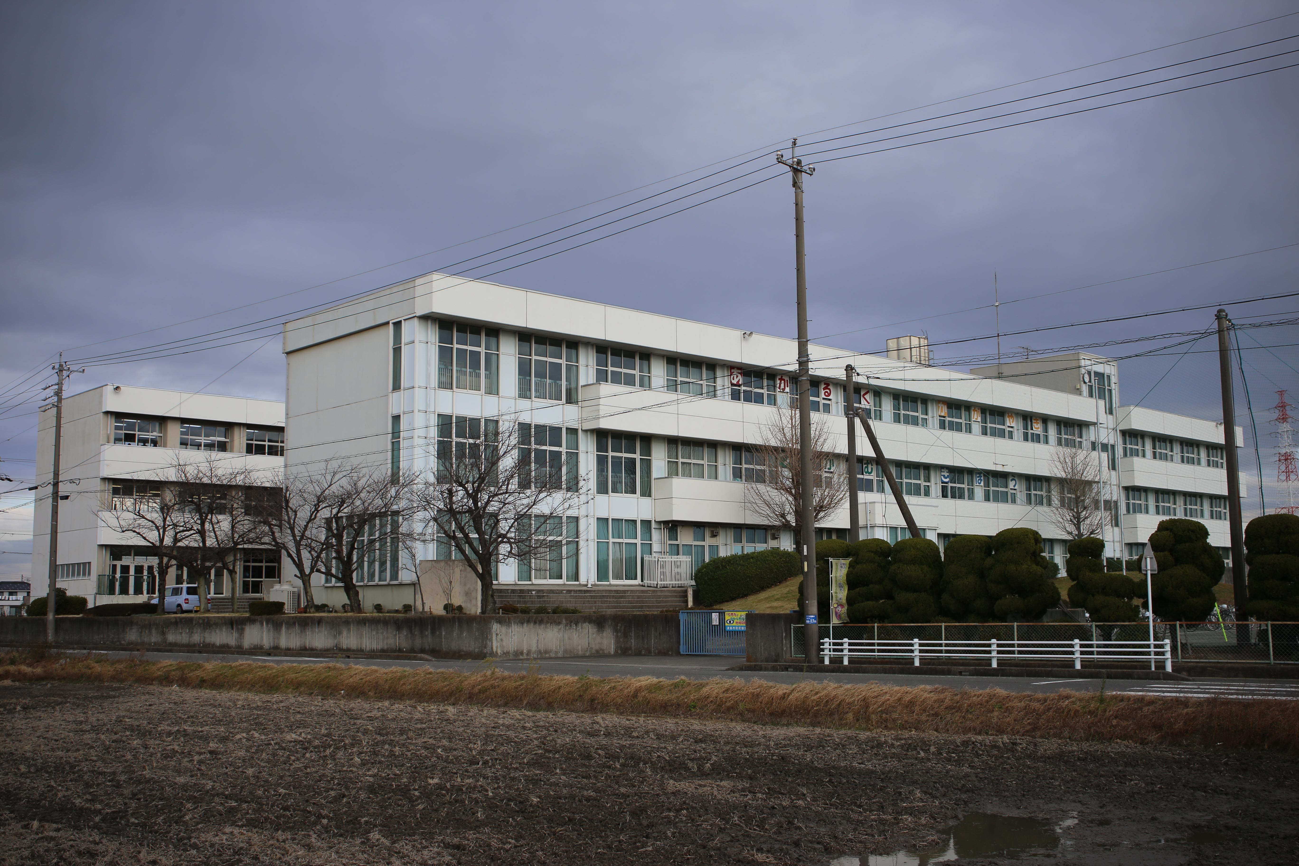 File Tsushima City Akatsuki Junior High School 20161217 Jpg