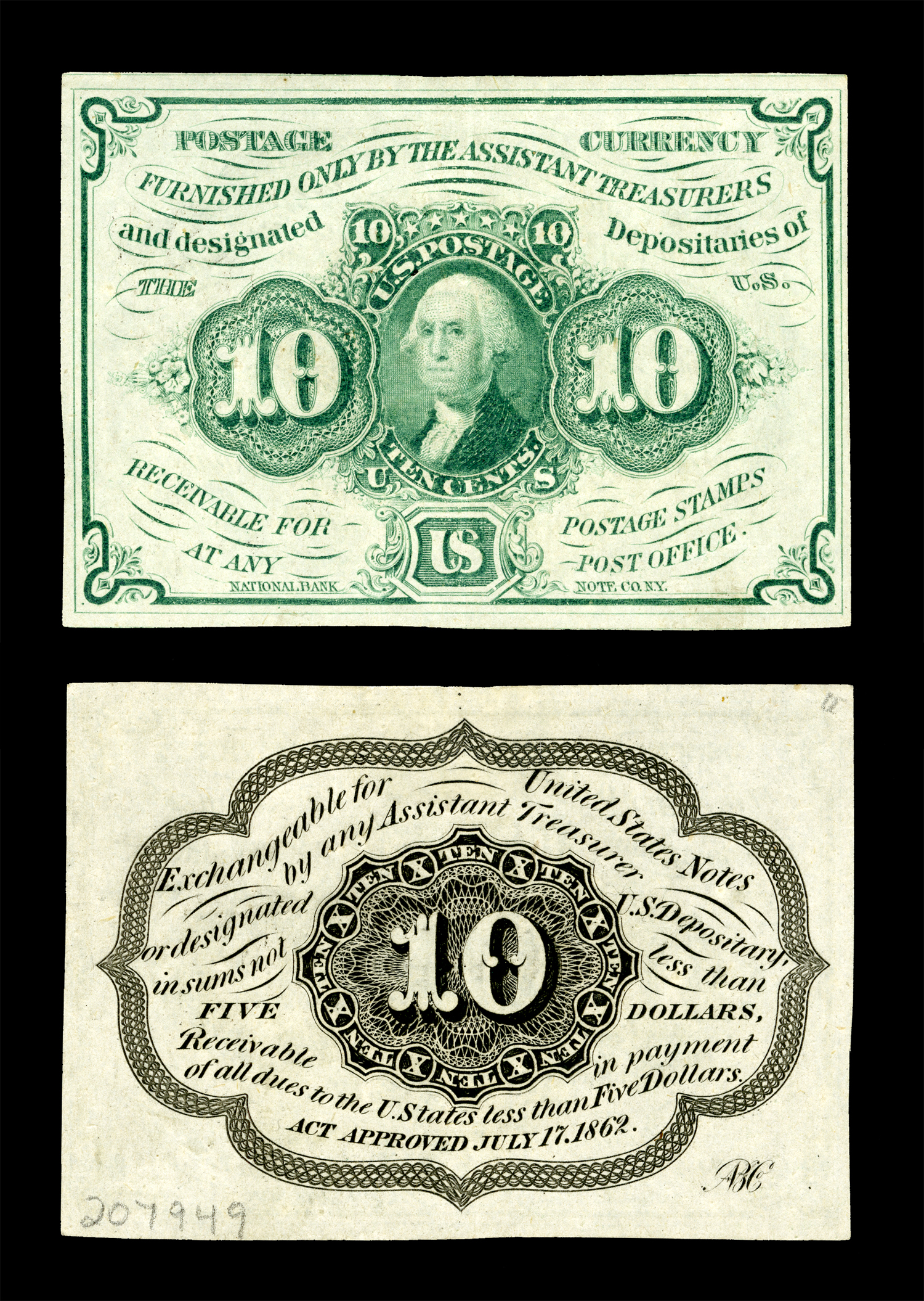 File:US-Fractional (1st Issue)-$0.10-Fr.1242.