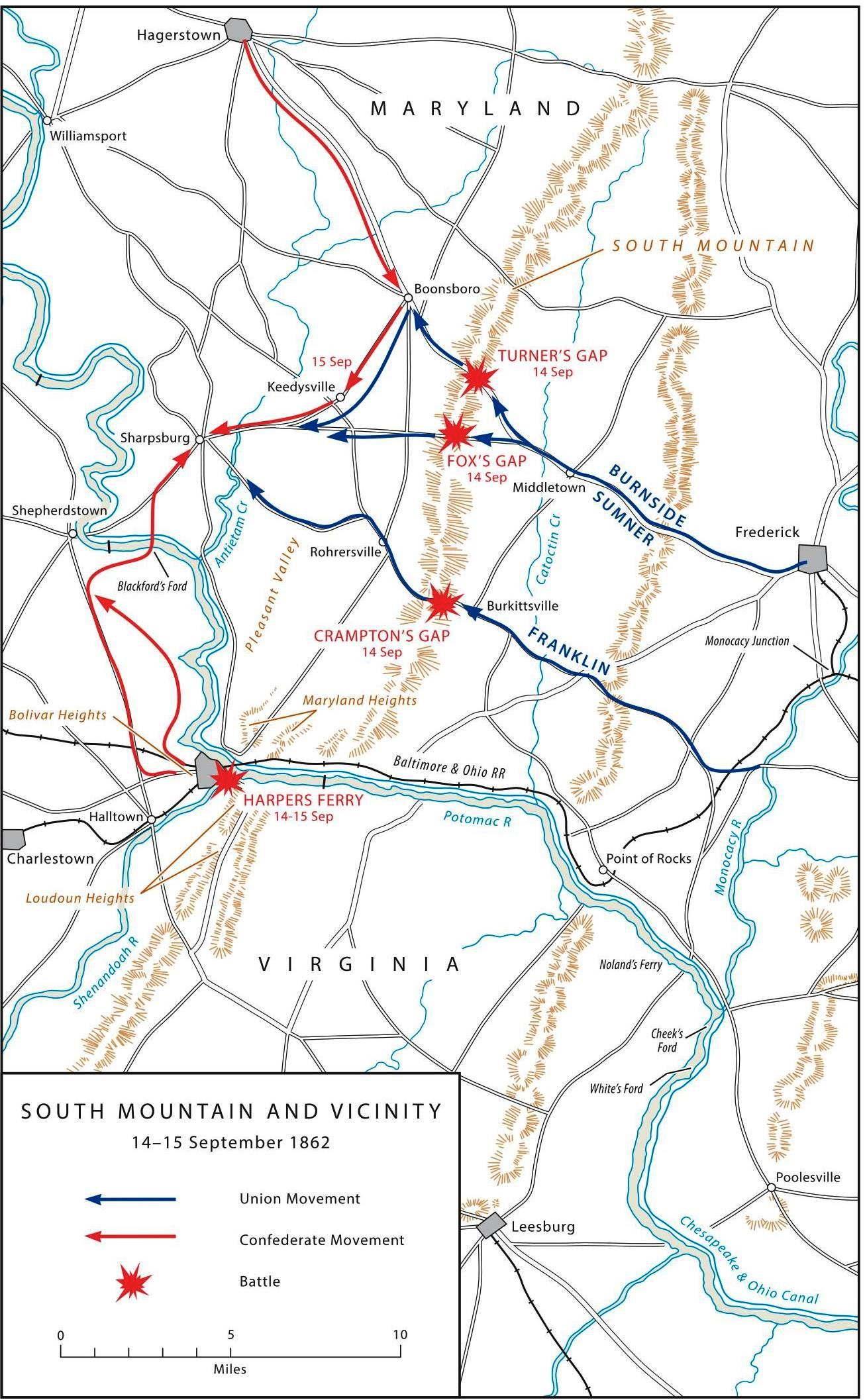 FileUS ARMY MARYLAND CAMPAIGN MAP Jpg Wikipedia - Map us open