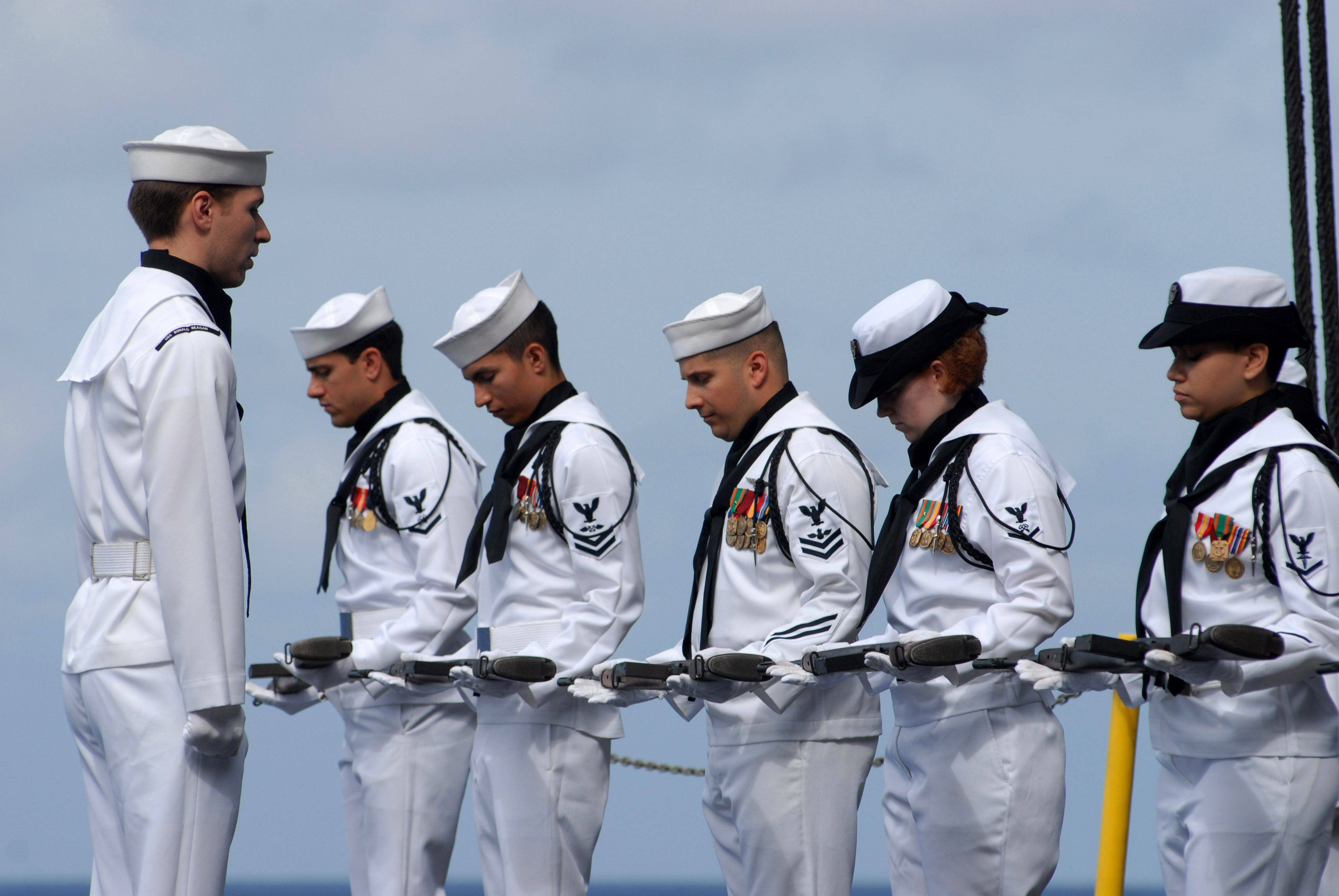 the symbolism of the united states ship nimitz for the united states military strength Giant aircraft carriers have become synonymous with us military power, but  many do not realize just how exceptional these vessels are.