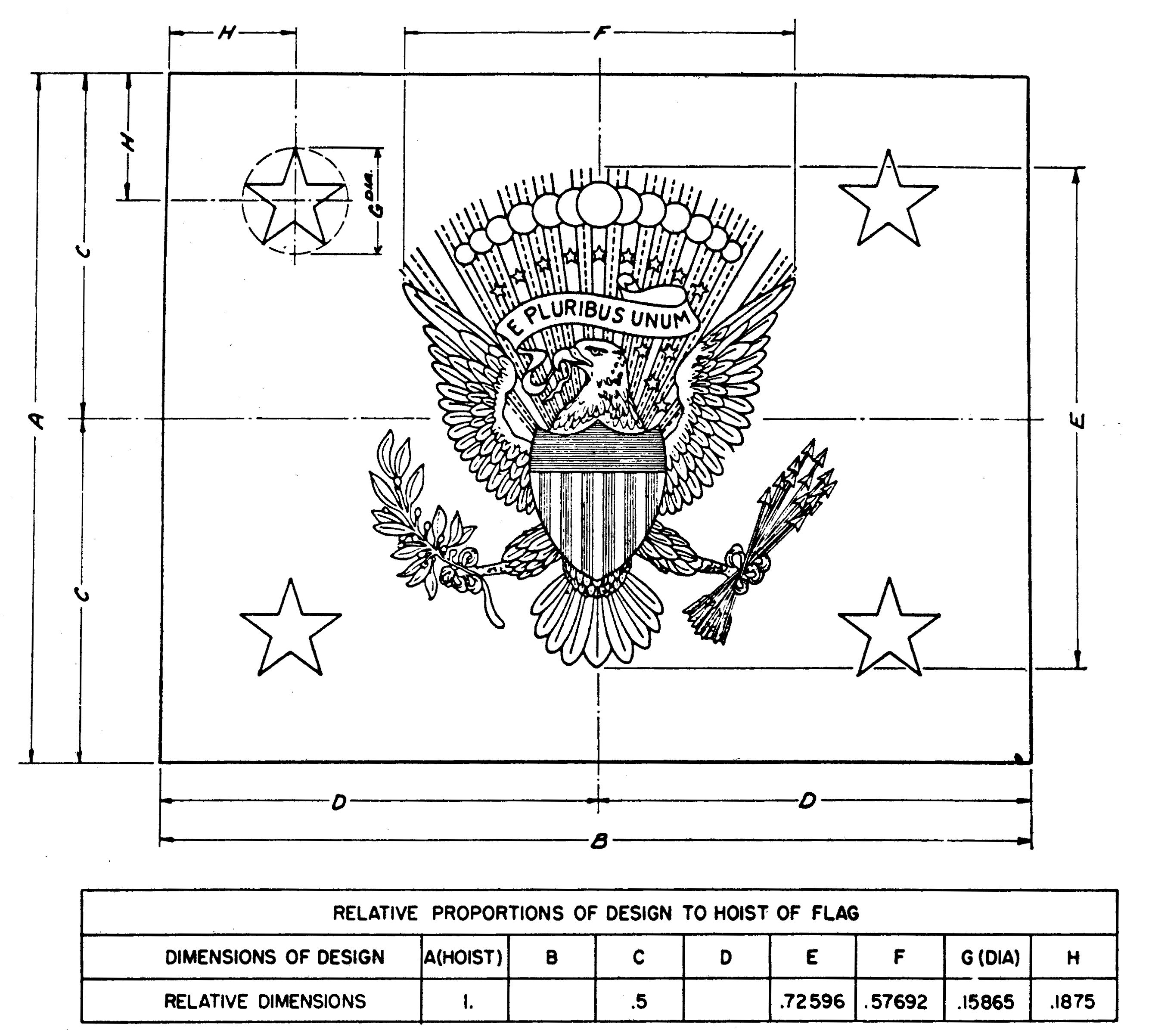 file us vice presidents flag 1975 specification jpg wikimedia