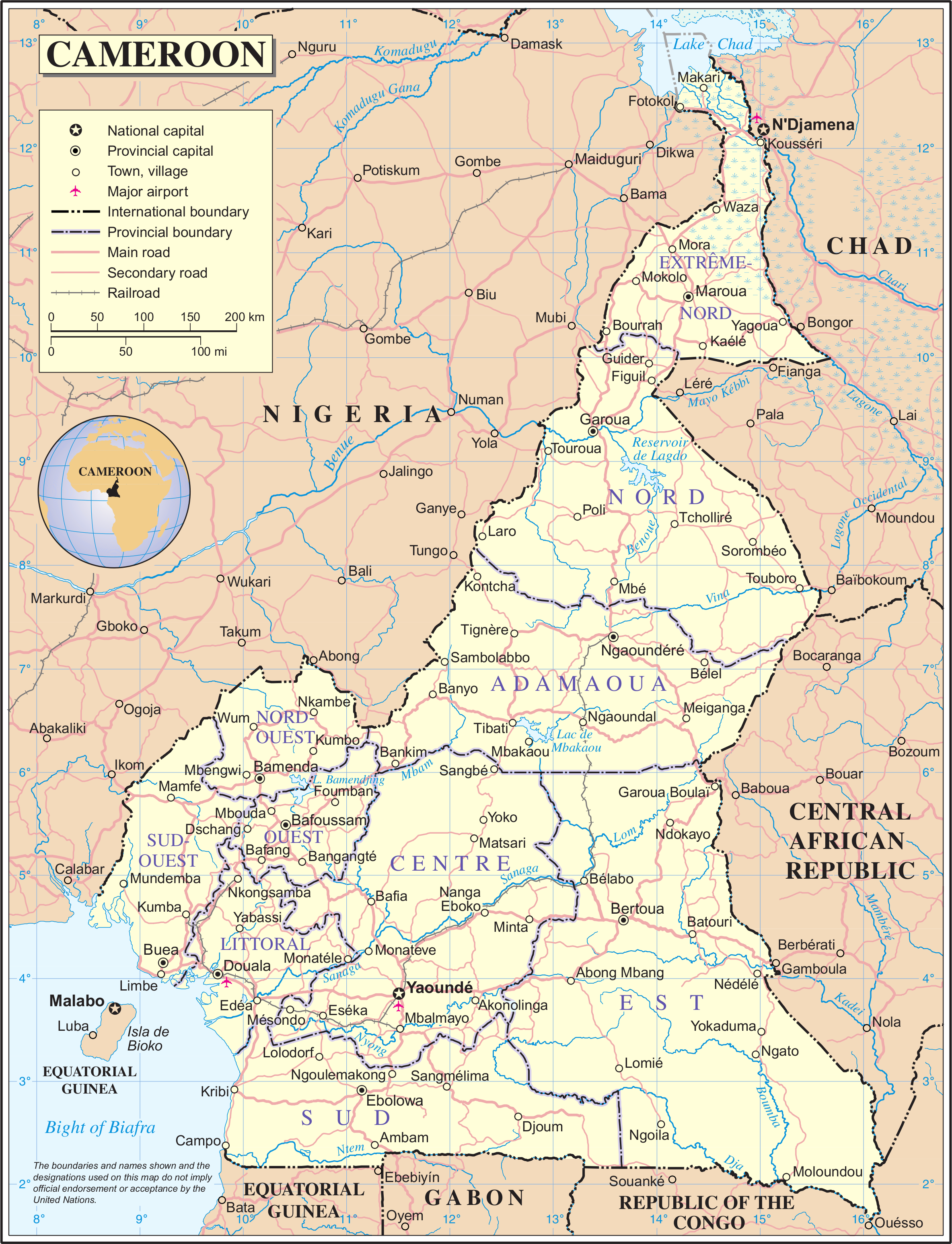 List of rivers of Cameroon - Wikipedia Cameroon Africa Map on cape verde atlantic ocean map, douala cameroon map, cameroon map with no words, mt cameroon map, cameroon language, cameroon ethnic groups, cameroon history, cameroon ebola, cameroon flag, www.africa map, lake nyos map, cameroon forest, croatia map, cameroon airport map, cameroon chad map, cameroon yearly income, cameroon morocco map, cameroon terrorism,