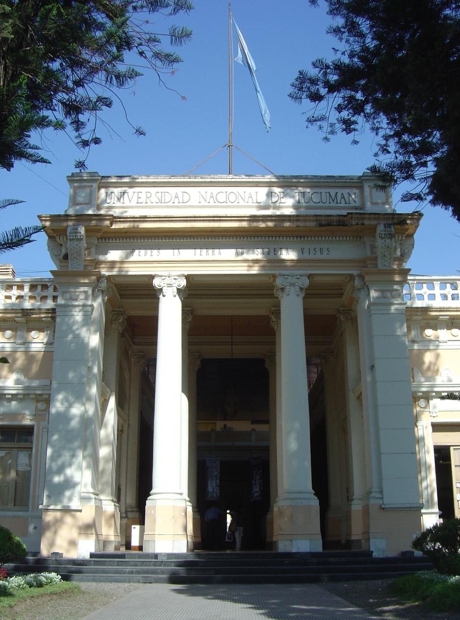 National university of tucum n wikipedia for Facultad de arquitectura uni