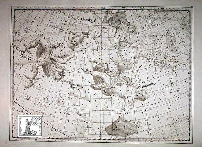 Uranographia Andromeda