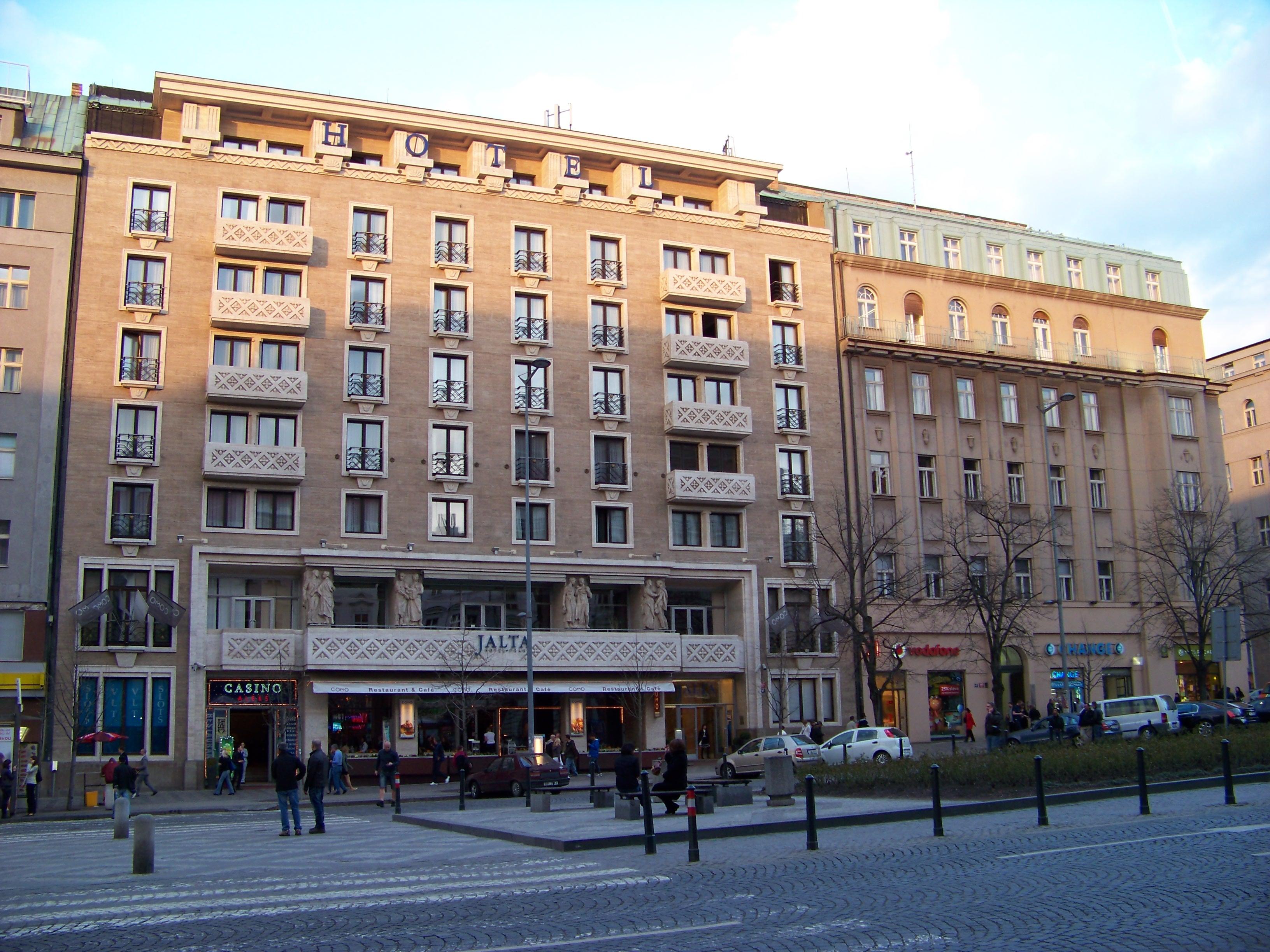 File Václavské Náměstí Hotel Jalta Jpg