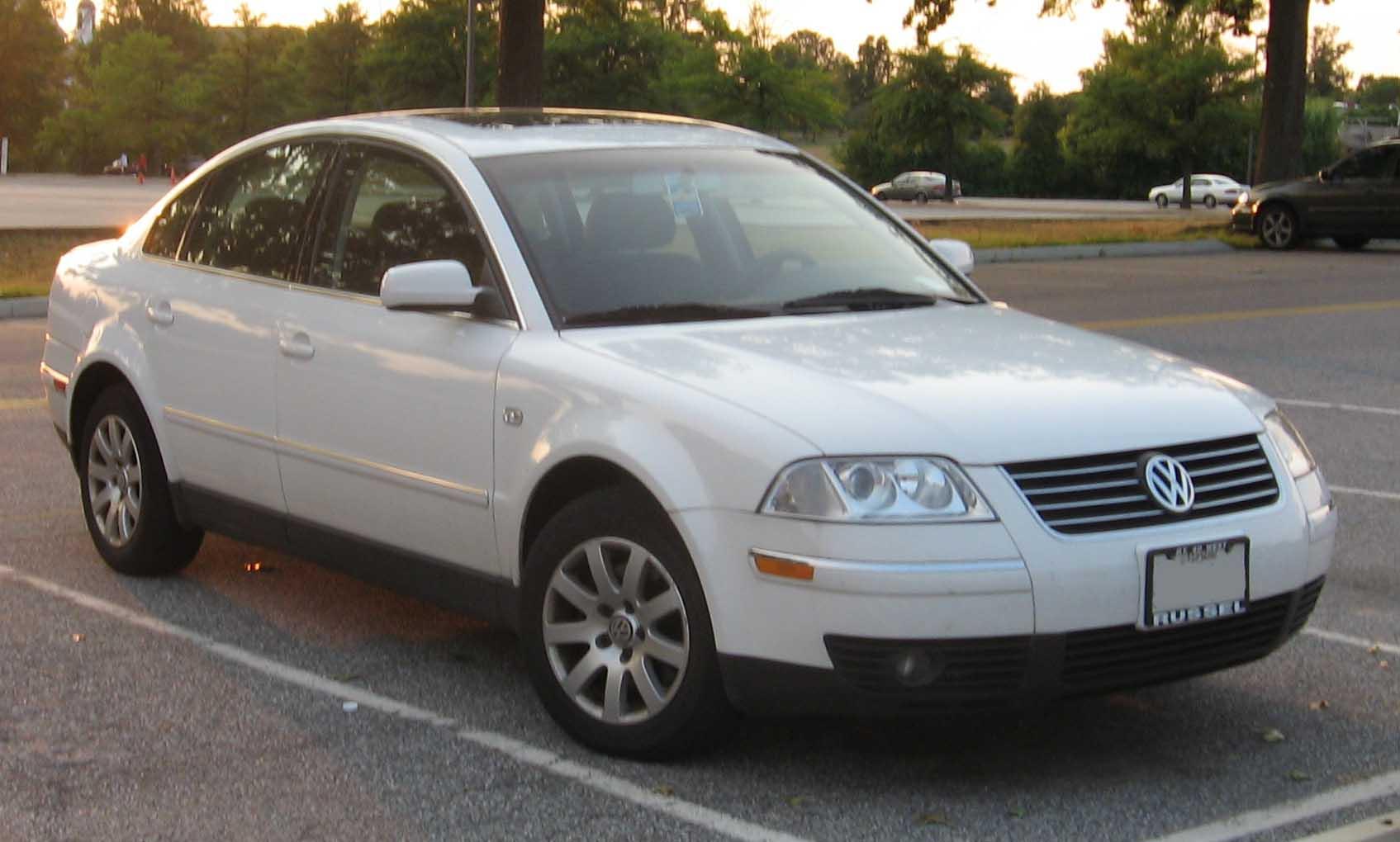 All Types passat 2000 : File:Volkswagen-Passat-B5.5.jpg - Wikimedia Commons