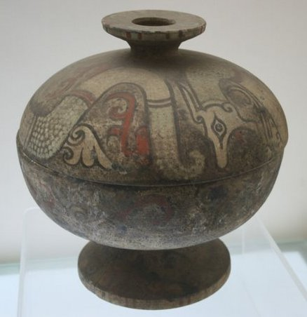 File:Warring States painted pottery dou.JPG