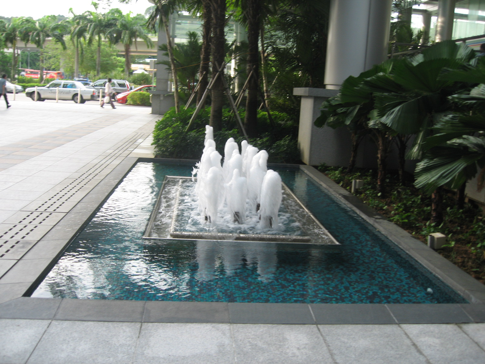File water feature harbourfront tower one jpg wikimedia for Water features
