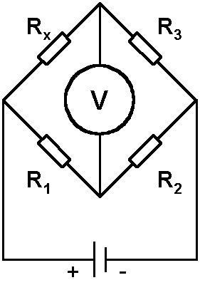 Brug van wheatstone spanning berekenen