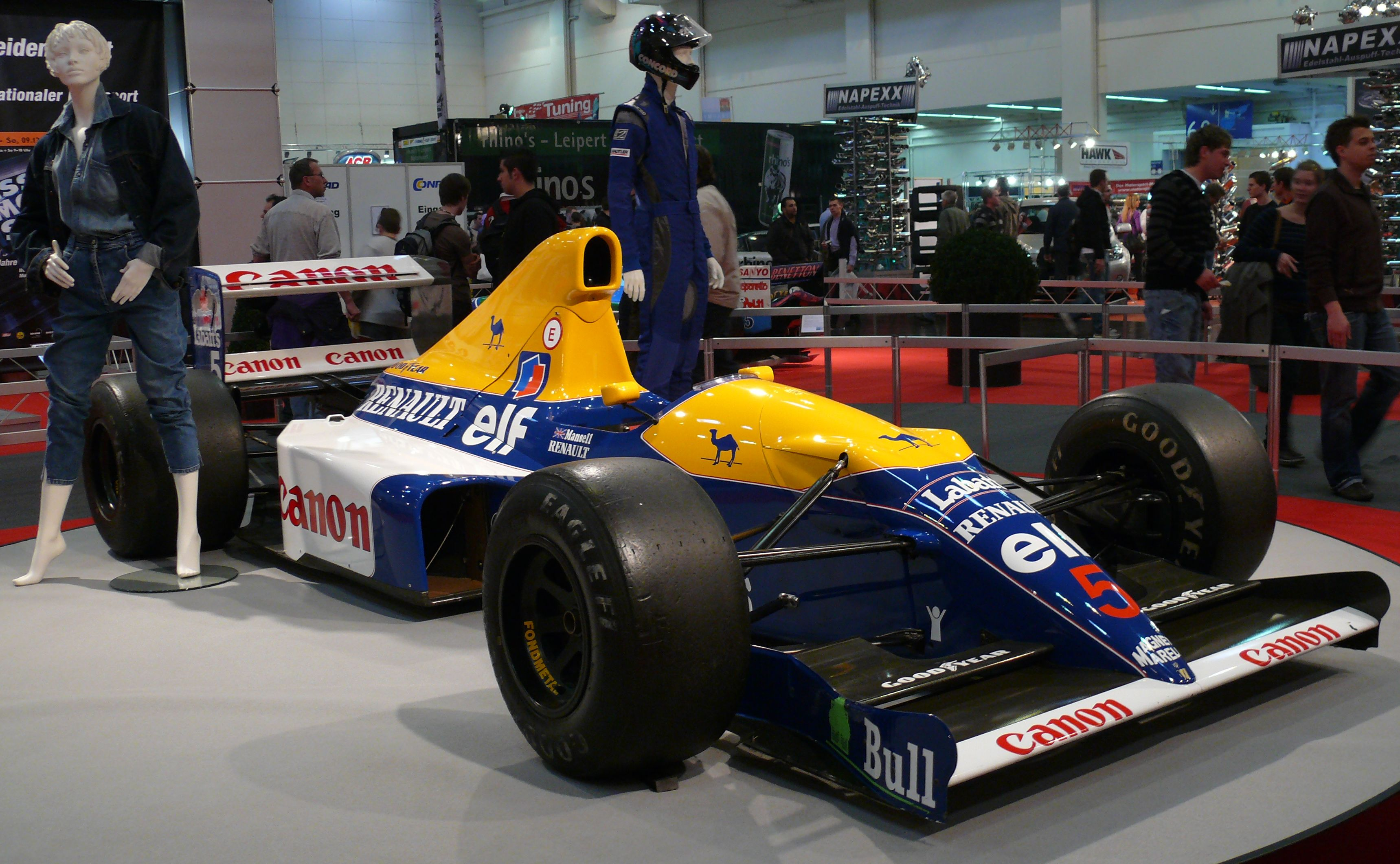 File Williams Fw14b Renault 1992 Nigel Mansell Jpg