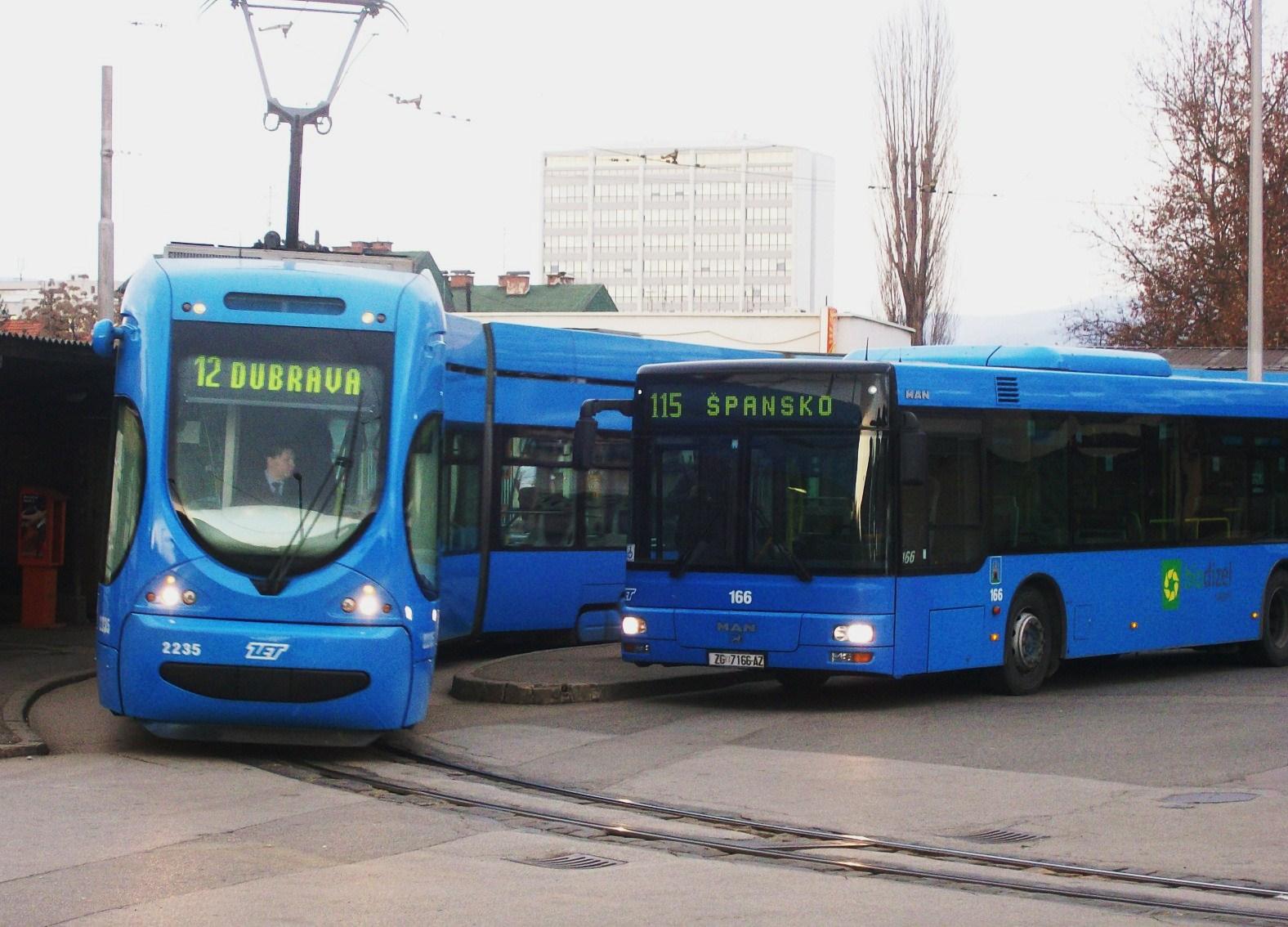 Prometni Polozaj I Javni Gradski Prijevoz Zagreb