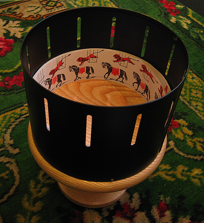 Merry go round Zoetrope from Wikimedia.org
