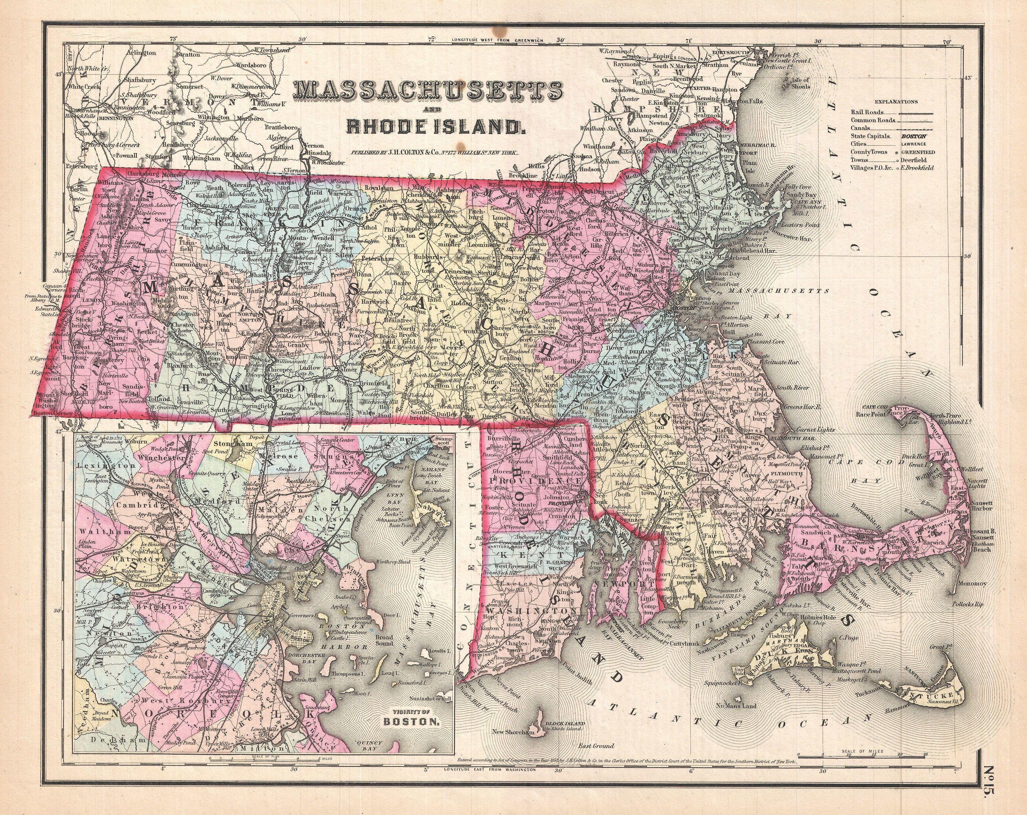Rhode Island Historical Features