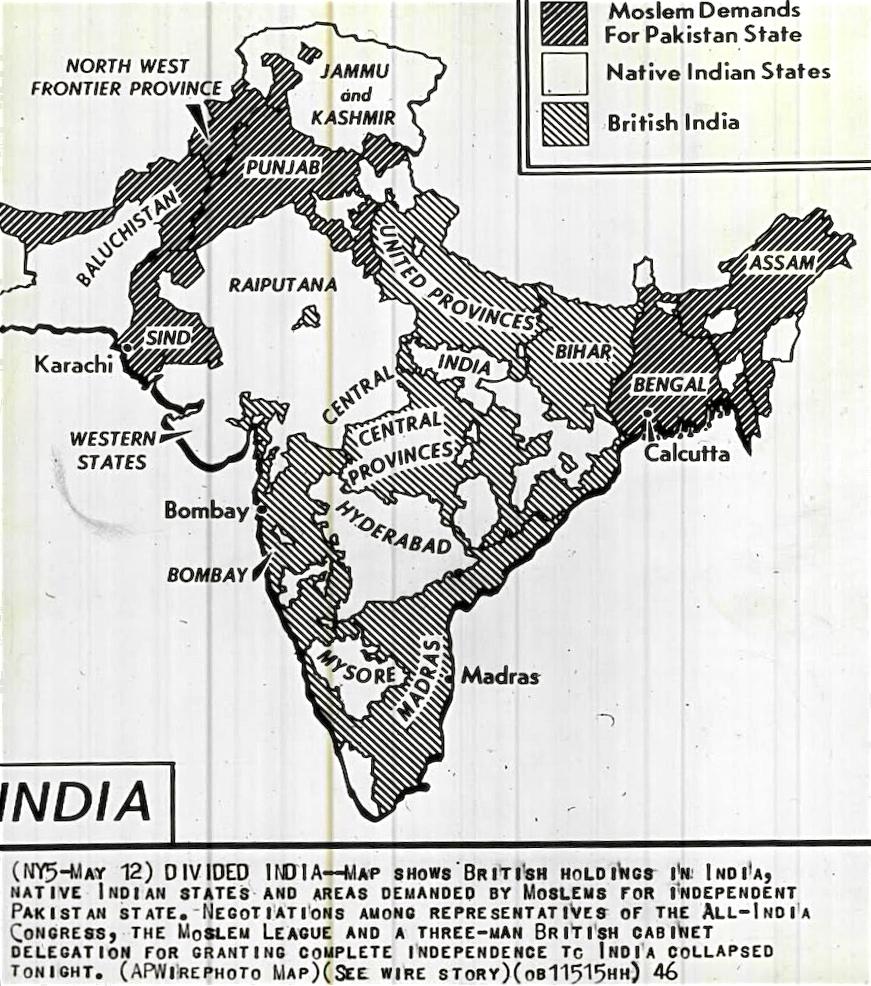 Stan States Map on
