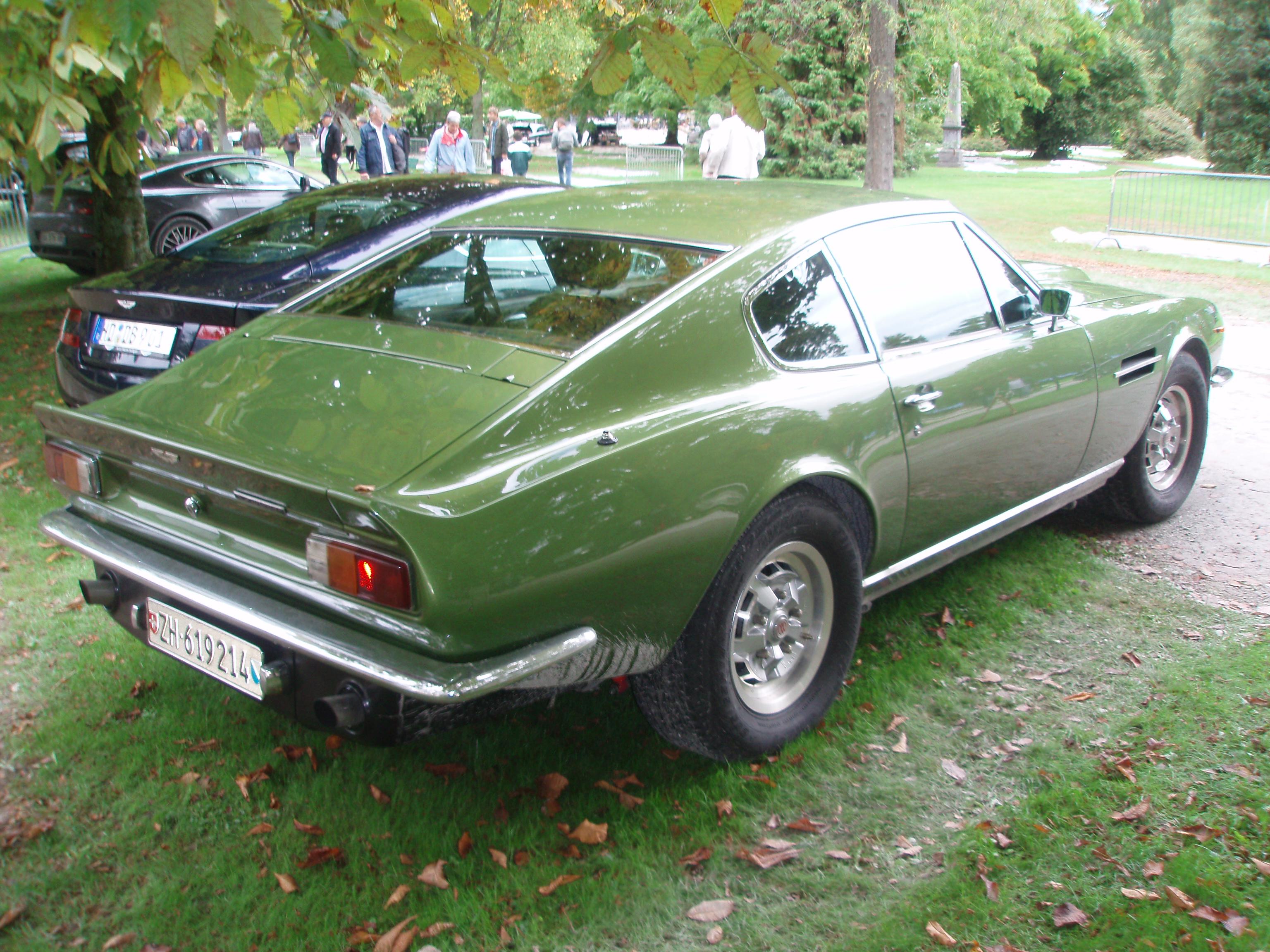 Datei 1978 Aston Martin V8 Vantage Fliptail In Morges 2013 Rear Right Jpg Wikipedia