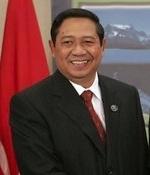 Der indonesische Präsident Susilo Bambang Yudhoyono