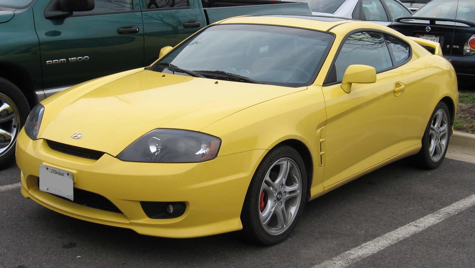 File:2006-Hyundai-Tiburon.jpg - Wikimedia Commons