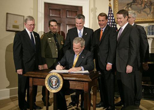 File 20061026 President George W Bush Signs H R 6061