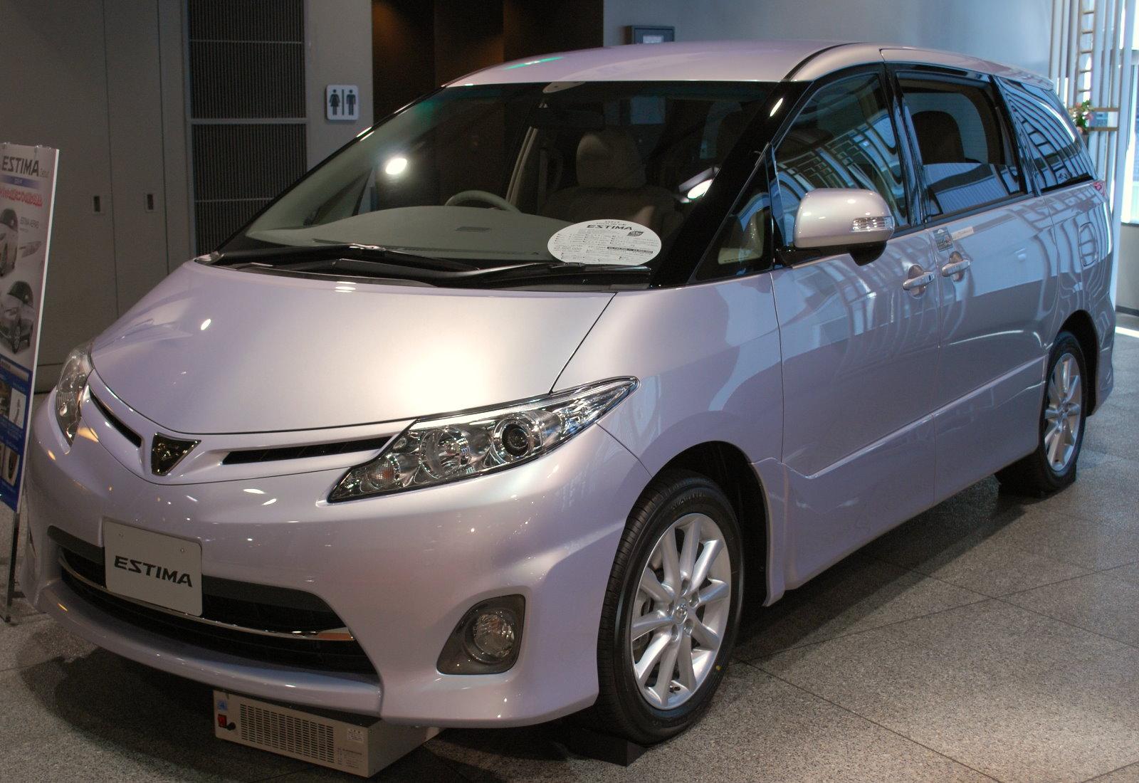 File:2008 Toyota Estima 01.jpg - Wikimedia Commons