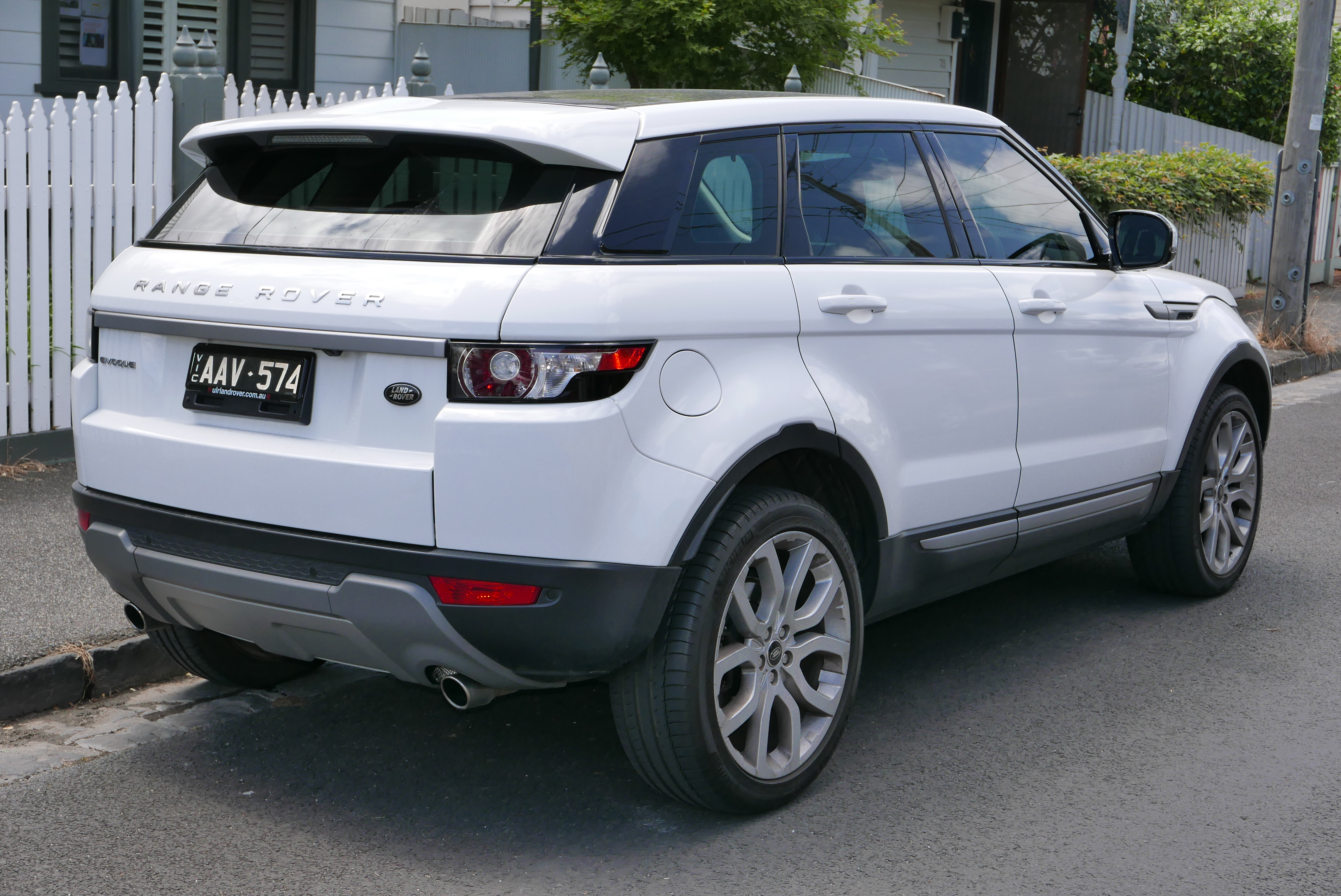 Land Rover Evoque Used Car Sales