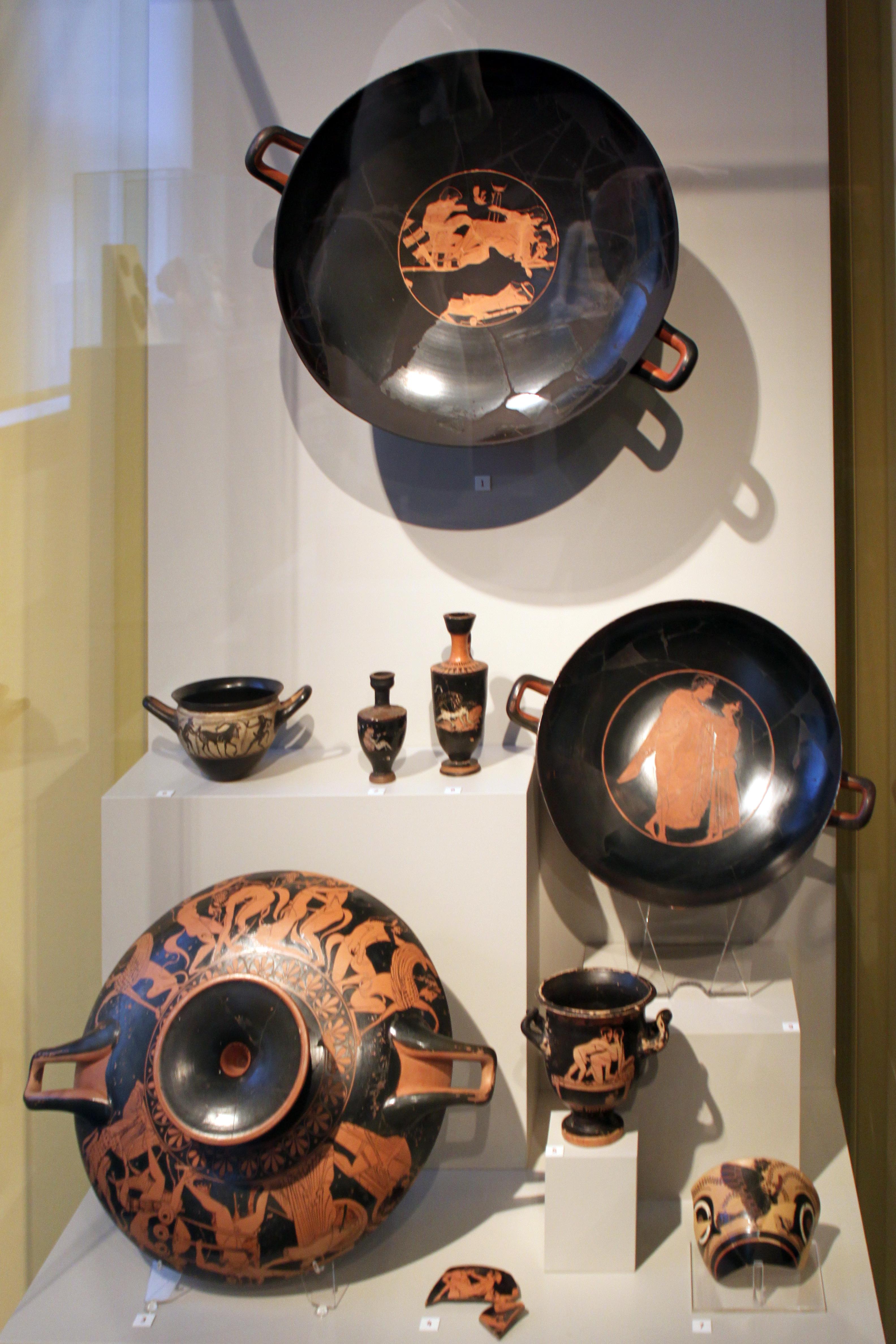 File2014-01-26 Symposium Tableware with erotic motif 00 Altes Museum anagoria & File:2014-01-26 Symposium Tableware with erotic motif 00 Altes ...