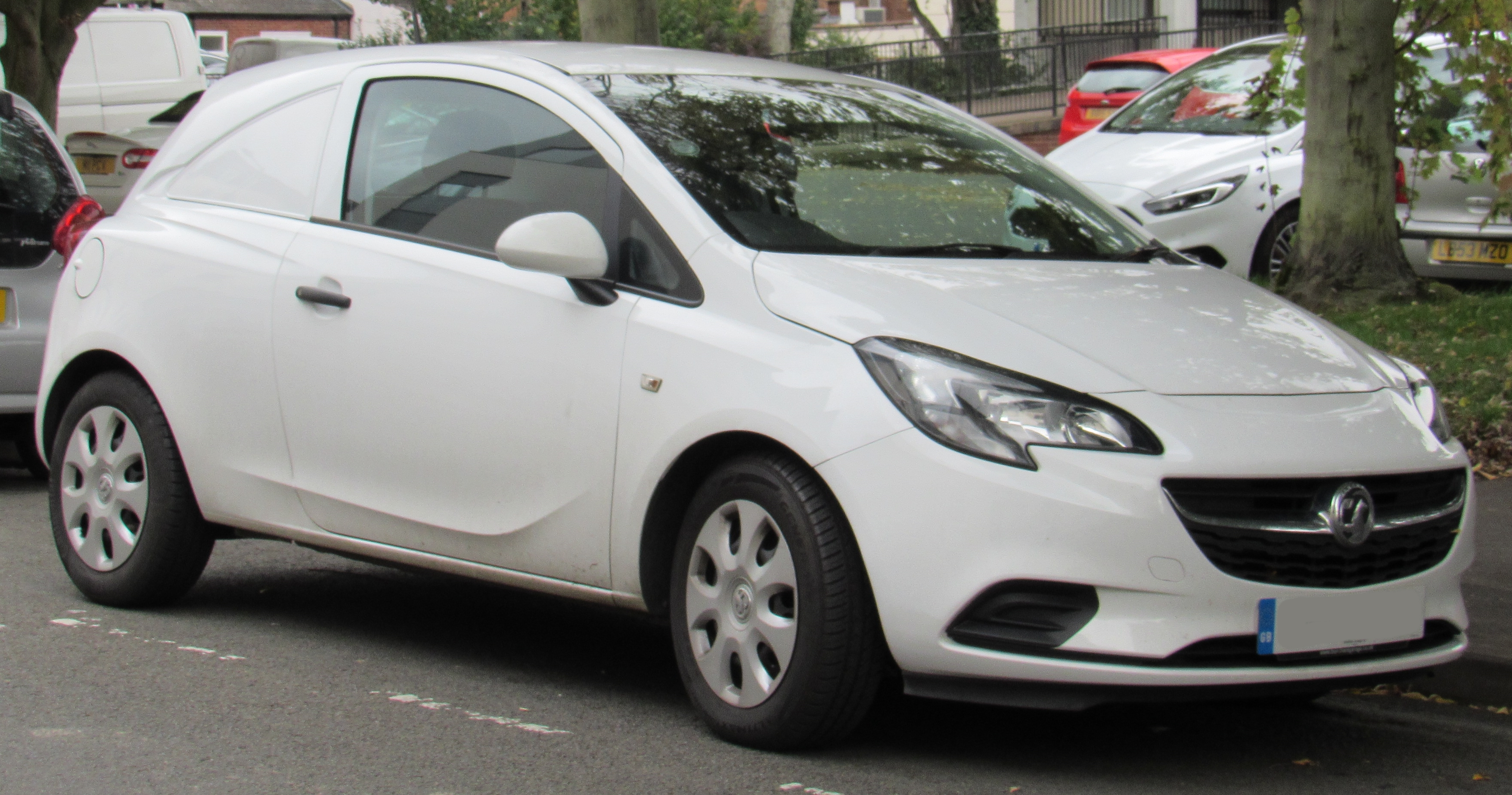 Vauxhall Corsavan Car-Derived Van