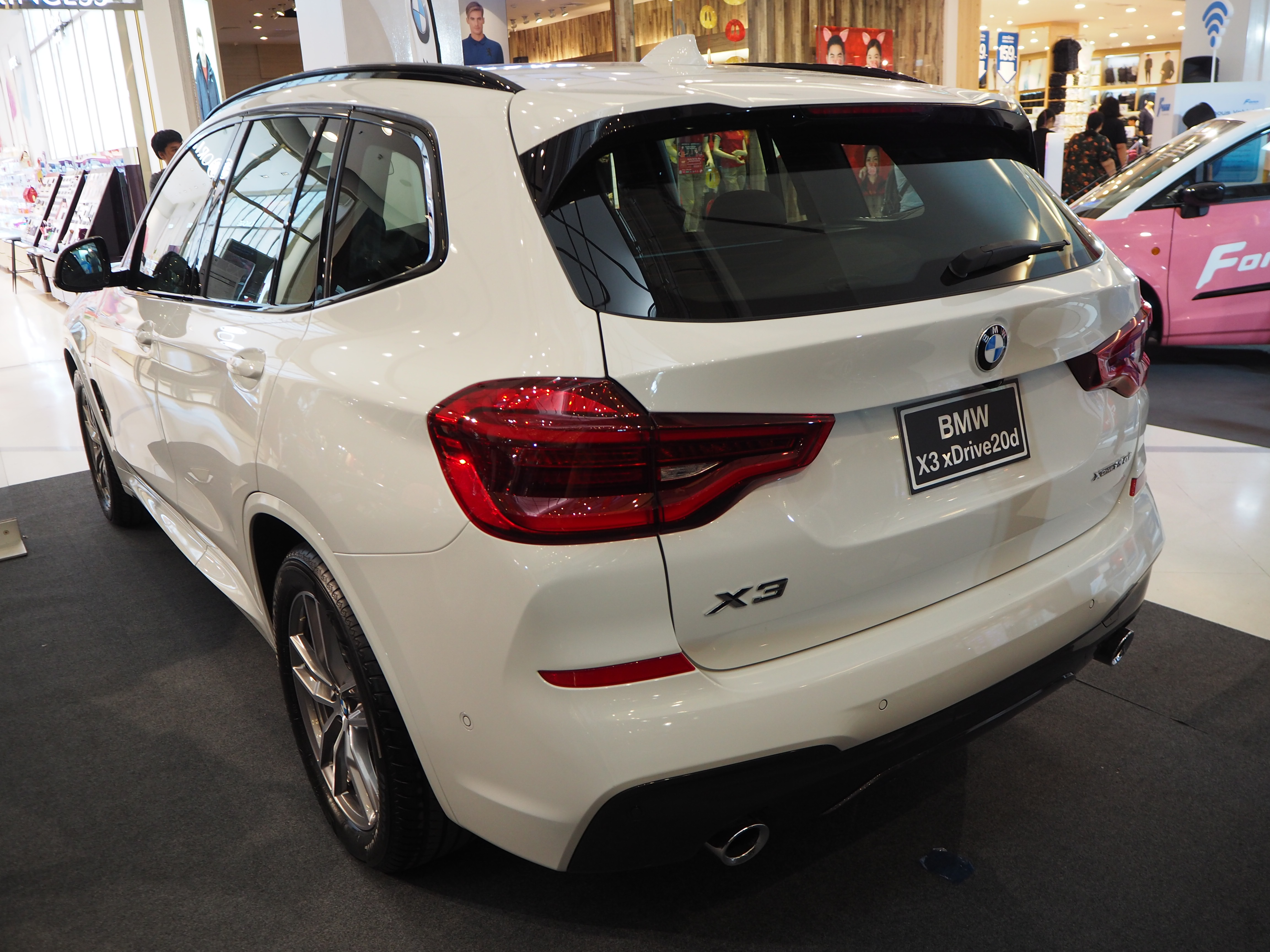 File 2018 Bmw X3 Xdrive 20d M Sport Rear Jpg Wikimedia Commons