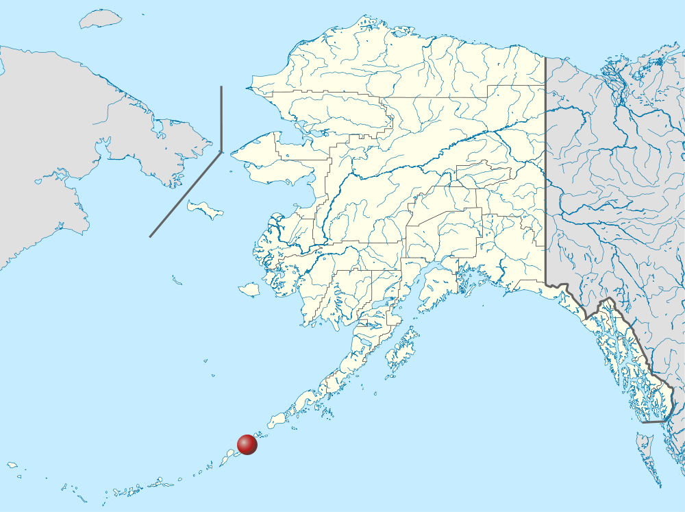 Akutan Alaska Map File Akutan on Alaska Location