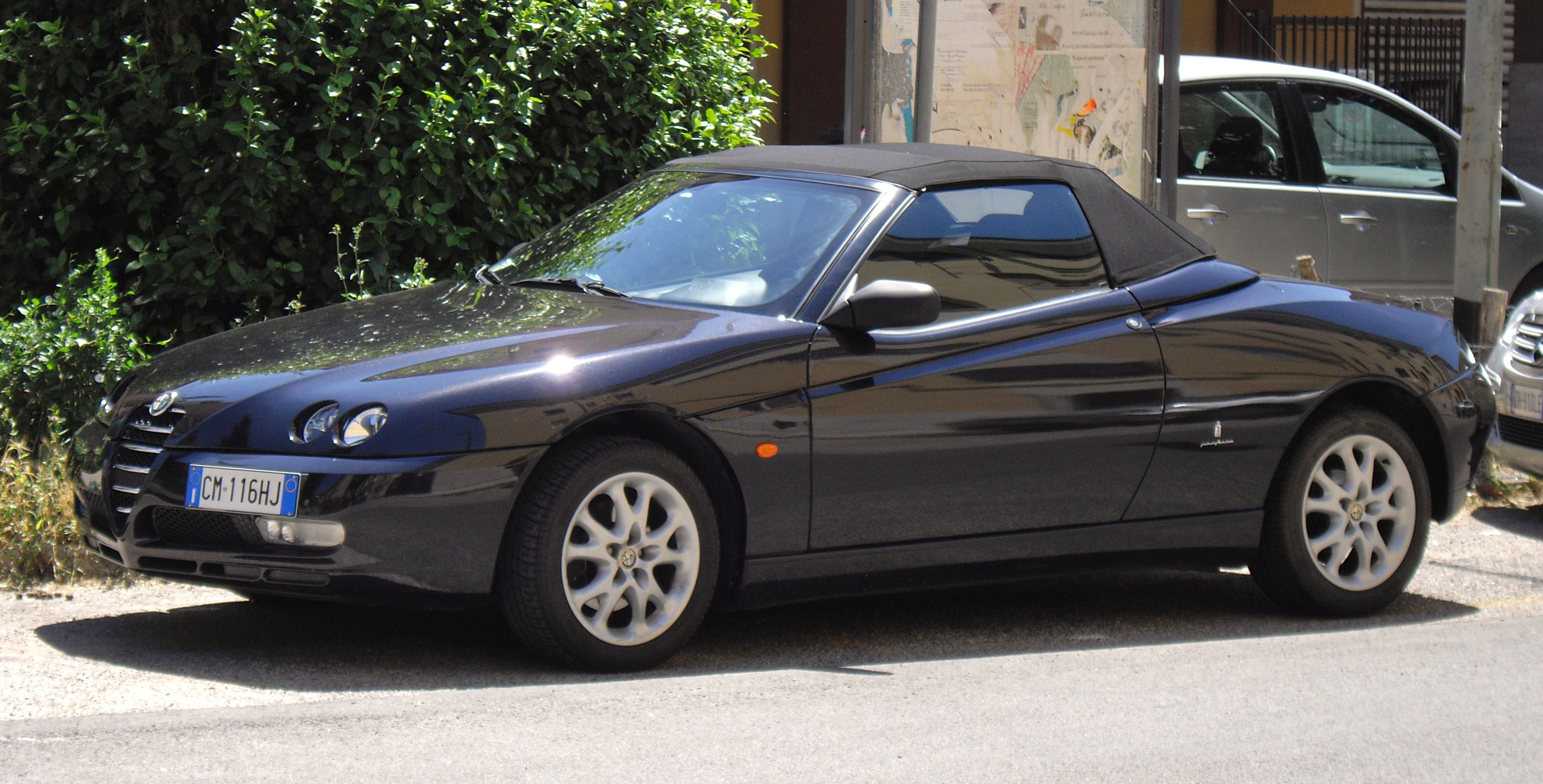 file alfa romeo spider 916 facelift jpg wikimedia commons. Black Bedroom Furniture Sets. Home Design Ideas