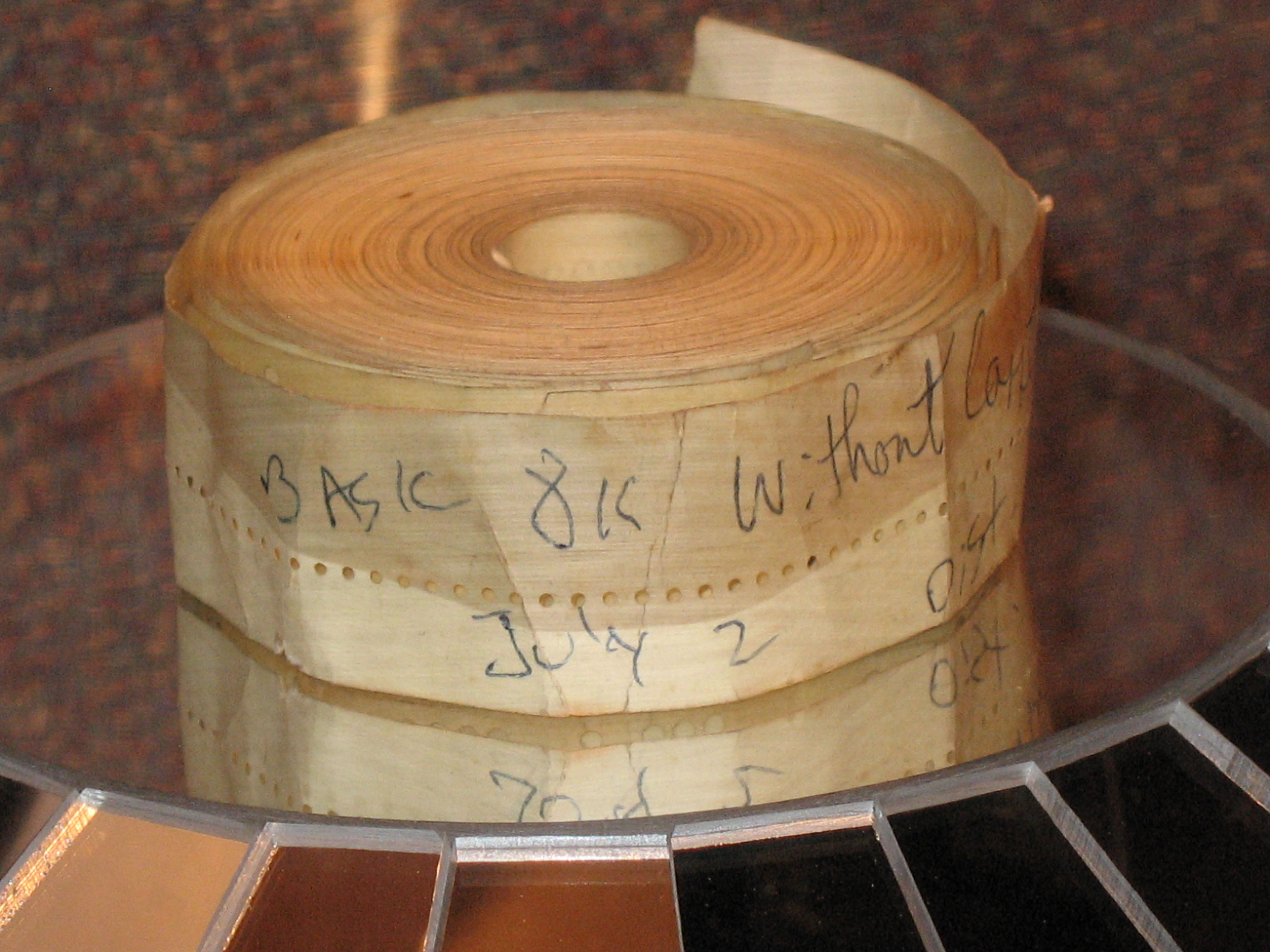 http://upload.wikimedia.org/wikipedia/commons/9/9a/Altair_BASIC_Paper_Tape.jpg